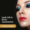 Lash Lift & Brow Lamination Online Eyelash Extension Course 1